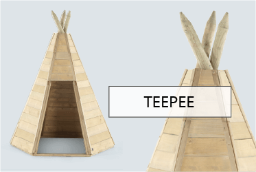 Plum Play Discovery Children's Wooden Teepee