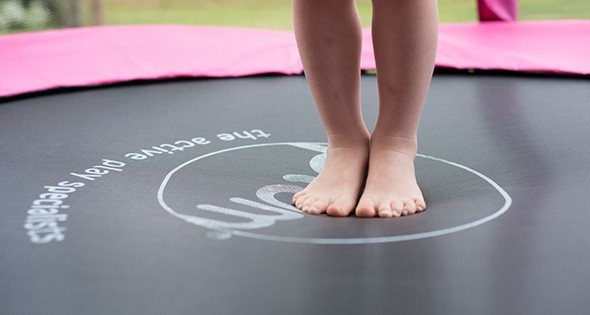 1.4m Pink Weather Protected Safety Pads